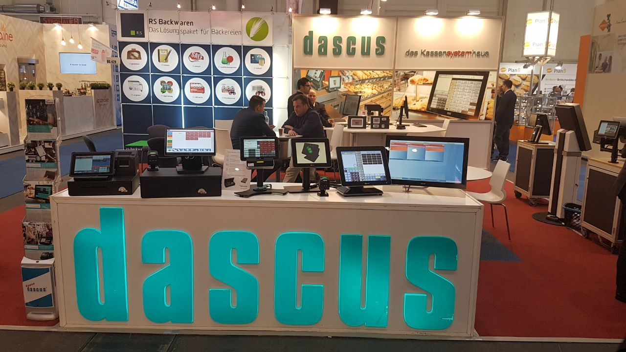 Internorga 2018 dascus Messestand