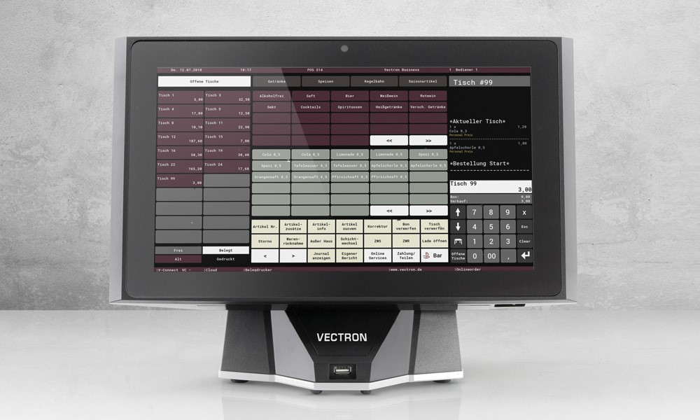 Vectron POS Touch 14 Wide